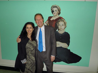 Prof Iain Hutchison meets BBC Radio 4 presenter Anita Anand