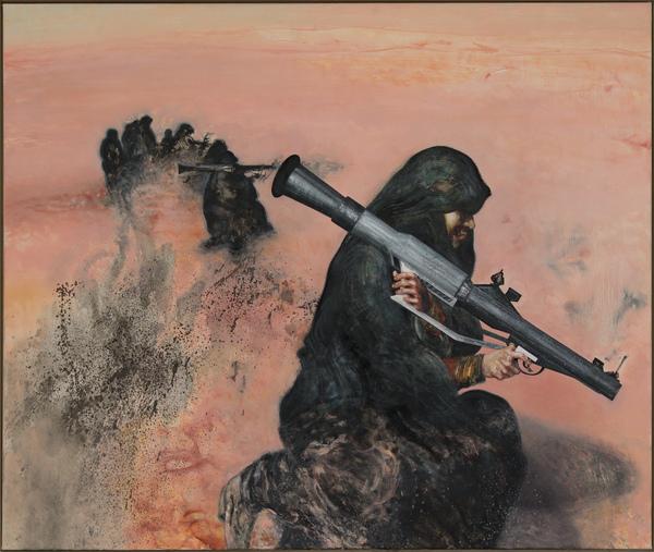 Gulf women prepare for war