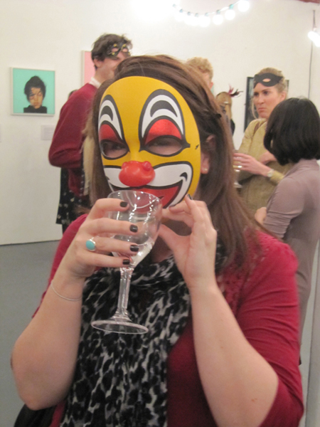 Sf supporter enjoying the Masquerade 2012