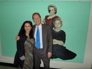 Prof Iain Hutchison meets BBC Radio 4 presenter Anita Anand
