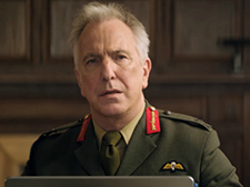 Alan Rickman as Lt. General Frank Benson in Eye in the Sky